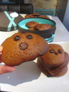 Biscuits Nutella et compote de pommes (sans beurre!)