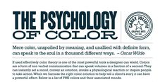 "ealperin: "" jvnk: "" The Psychology of Color An Infographic by Carey Jolliffe Graphic Arts "" Hello… "" Color Symbolism, Color Psychology, Branding, You Draw, Coordinating Colors, Design Reference, Drawing Reference, Color Theory, Peace And Love"
