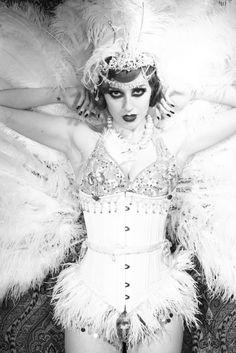 burlesque woman Vintage