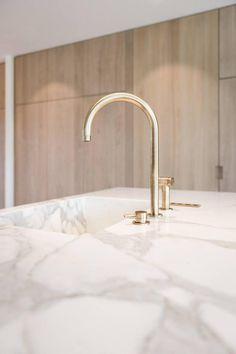 Kitchen tap by Aqualex Stone Kitchen, Kitchen Taps, New Kitchen, Bathroom Interior, Kitchen Interior, Kitchen Decor, Interior Desing, Interior Styling, Home Room Design