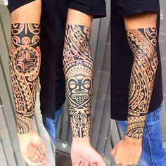 Repostando um trampo que curti fazer. Cliente deu total liberdade. #maoritattoo #maori #polynesian #tatuagemmaori #tattoomaori #polynesiantattoos #polynesiantattoo #polynesia #tattoo #tatuagem #tattoos #blackart #blackwork #polynesiantattoos #marquesantattoo #tribal #guteixeiratattoo #goodlucktattoo #tribaltattooers #tattoo2me #inspirationtatto #tguest #blxckink