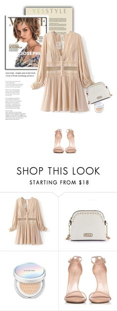 """YESSTYLE.com"" by monmondefou ❤ liked on Polyvore featuring Laneige and Stuart Weitzman"
