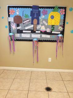 Spongebob classroom door decoration   Classroom ...