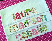 Personalized Pillowcase  .... Great sleepover party favor!