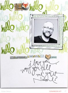 hello i love you (main kit only) by just g at @studio_calico - stamped background