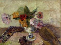 Vase mit Blumen - Paul Gauguin