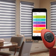 power-view-hunter-douglas-motorizacion1 Hunter Douglas Shutters, Modern Window Treatments, Nursery Office, Blinds For Windows, Window Coverings, Smart Home, Interior Decorating, New Homes, Home Decor