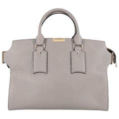8ad89558f4bf Burberry Clifton Convertible Tote Heritage Grained Leather Large