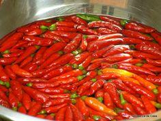 Coisas cá de casa: Pimenta em conserva