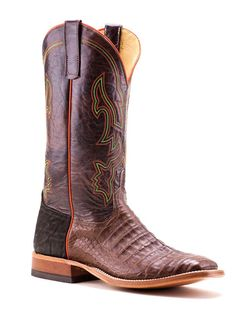 1e63901ab9b Mens Anderson Bean Caiman Belly Boots
