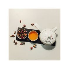Tea is the elixir of life. It refreshes your mind. Roses tea.