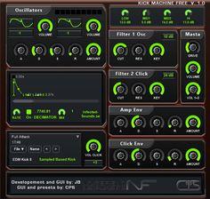 Kick Machine Free sample based kick drum machine plug-in for Windows. http://www.vstplanet.com/News/2016/noizefield-releases-kick-machine-free.htm