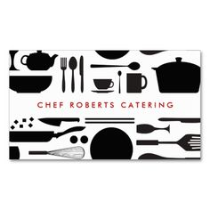 BLACK AND WHITE KITCHEN COLLAGE No. 3 Business Cards. This great business card design is available for customization. All text style, colors, sizes can be modified to fit your needs. Just click the image to learn more!