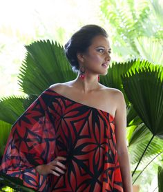 MENA Dress Samoan Dress, Island Clothing, Island Outfit, South Pacific, Ethnic Fashion, Gears, Swag, Culture, Inspired