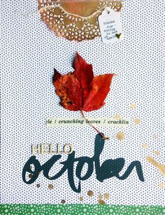 hello october by ginny at @studio_calico