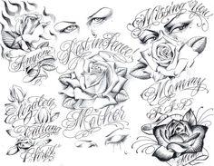 Art Gangster Tattoo Designs | Tattoo Flash by Boog. Татуировки, зарисовки (191 ...