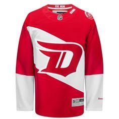 3503f02659c Detroit Red Wings Reebok 2016 Stadium Series Premier Jersey