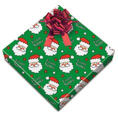 """13 years ago~I bought 16 rolls of paper that said """"FROM SANTA"""" and have wrapped Santa present's in it ever since.  B1 loves it and knows Santa's presents by the paper! MUST DO for newborns!"""