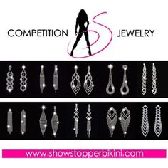Showstopper Competition Jewelry available at showstopperbikini.com…