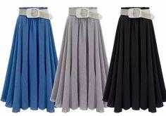 Pre order Sophie skirt (blue,black,grey) size small