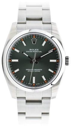 f76ef53eb7d Rolex Air-King 114200 Stainless Steel Automatic 34mm Mens Watch King Air  Rolex