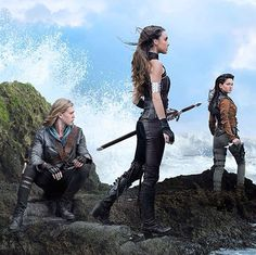 Wil, Amberle, and Eretria