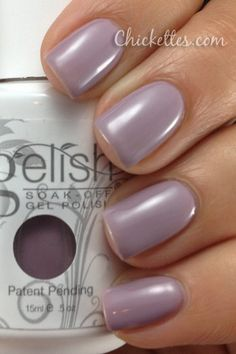 Gelish swatches    Princess Tiara Swatch