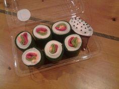 Felted sushi