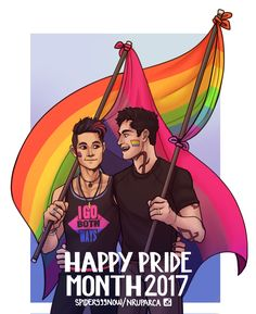 Malec Pride by spider999now ... shadowhunters, alexander 'alec' lightwood, magnus bane, the mortal instruments, malec