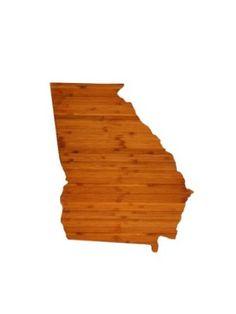 Amazon.com: AHeirloom's Georgia State Cutting Board: Kitchen & Dining