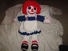 Raggedy Ann Crocheted