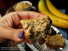 Basic Coconut Flour Muffins with direction for Banana, Apple Spice, Pumpkin and Blueberry.