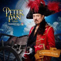 Meet Hook TOMORROW! #PeterPanLive