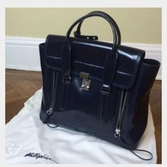 3.1 phillip lim pashli black patent leather 3.1 phillip lim pashli black patent leather 3.1 Phillip Lim Bags