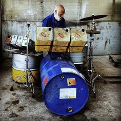Home made street drums