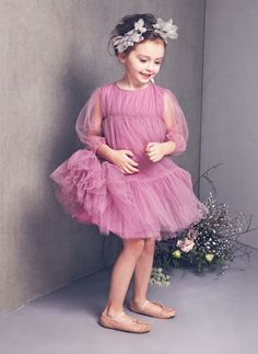 Nellystella Love Alice Dress – Smoky Grape – Only size 3 left – Hello Alyss – Designer Children's Fashion Boutique $160.00