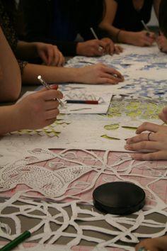 Piper Shepard, UGA Fabric Design workshop