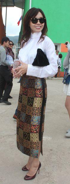 Mongolian national modern fashion