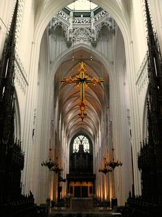 Cathedral of Our Lady, Antwerp, Belgium, 1522 Renaissance Architecture, Church Architecture, Antwerp Belgium, Castle Ruins, Dubai Travel, Cathedral Church, Medieval Town, Kirchen, Our Lady