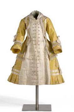 Girl's dress, 1875, Granada