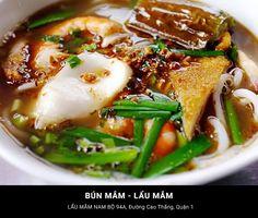 15. Noodle/ hot pot with fermented fish sauce - Bún mắm - lẩu mắm http://hoianfoodtour.com/41-sai-gon-dishes-that-are-worth-every-penny/ #saigon #vietnam #fermentedfishsauce #noodlesoup