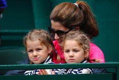 Myla Rose and Charlene Riva (Daughters of Roger Federer) Sport Tennis, Play Tennis, Federer Twins, Mirka Federer, Roger Federer Family, Celebrity Twins, Tennis World, Myla, Switzerland