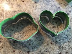 Some more homemade cookie cutters made out of pepsi can