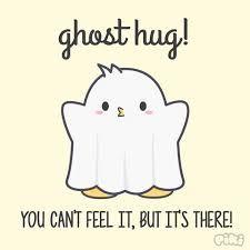 Image result for ghost hug Ghost Hug, Feelings, Comics, Fictional Characters, Image, Comic, Cartoons, Cartoon, Comic Books