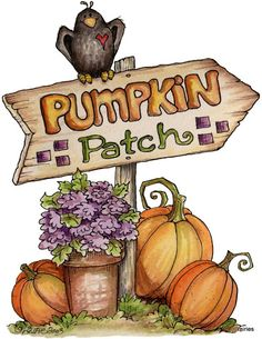 Autumn Clip Art and Images on Pinterest | Digi Stamps ...