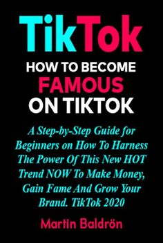 Buy TikTok - How to Become Famous on TikTok by Martin Baldrön and Read this Book on Kobo's Free Apps. Discover Kobo's Vast Collection of Ebooks and Audiobooks Today - Over 4 Million Titles! Make Money From Home, Make Money Online, How To Make Money, How To Become, How To Be Famous, Sales And Marketing, Step Guide, Business Tips, Read More