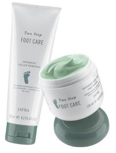 Jafra Refreshing Peppermint Foot Care Set by Jafra. $27.90. Let the fresh scent, rich emollients and exfoliating properties of JAFRA's Two Step Foot Care get your feet in step with softness. No more cracked skin, rough calluses or dry feet...just soft, smooth feet from heel to toe.