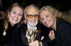 John Mills with daughters Juliet Mills & Hayley Mills