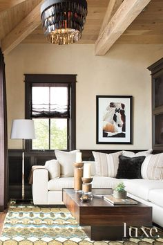 ~traditional architecture with modern blend furnishings~