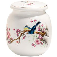 CCCI Bird and Cherry Blossom Canister : under 20